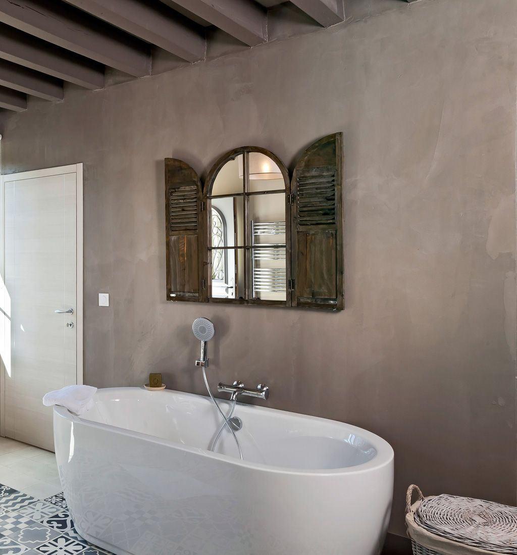 Awesome Carrelage Salle De Bain Gris Taupe Pictures - House Design ...