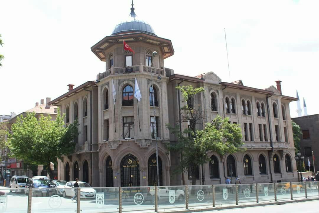 Ankara Ulus 30 Yillar Da Yapilan Eski Tekel Genel Mudurlugu Simdiki Yunus Emre Enstitusu Viajes Lugares