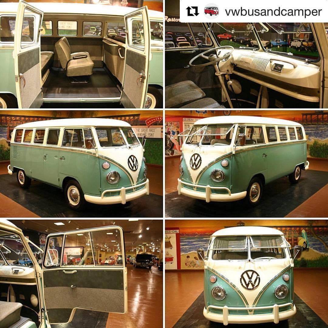 Repost @vwbusandcamper (@get_repost) ・・・ 1967 VW 13 Window ...