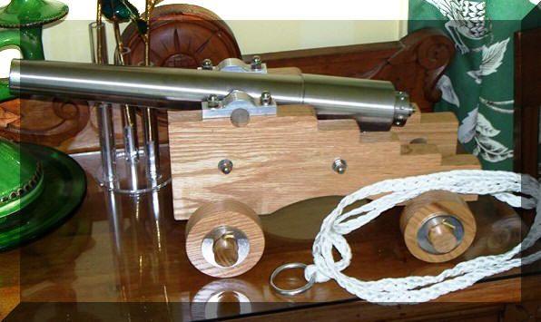 10 Gauge Blank Firing Steel cannon for sale | Like from Pinterest