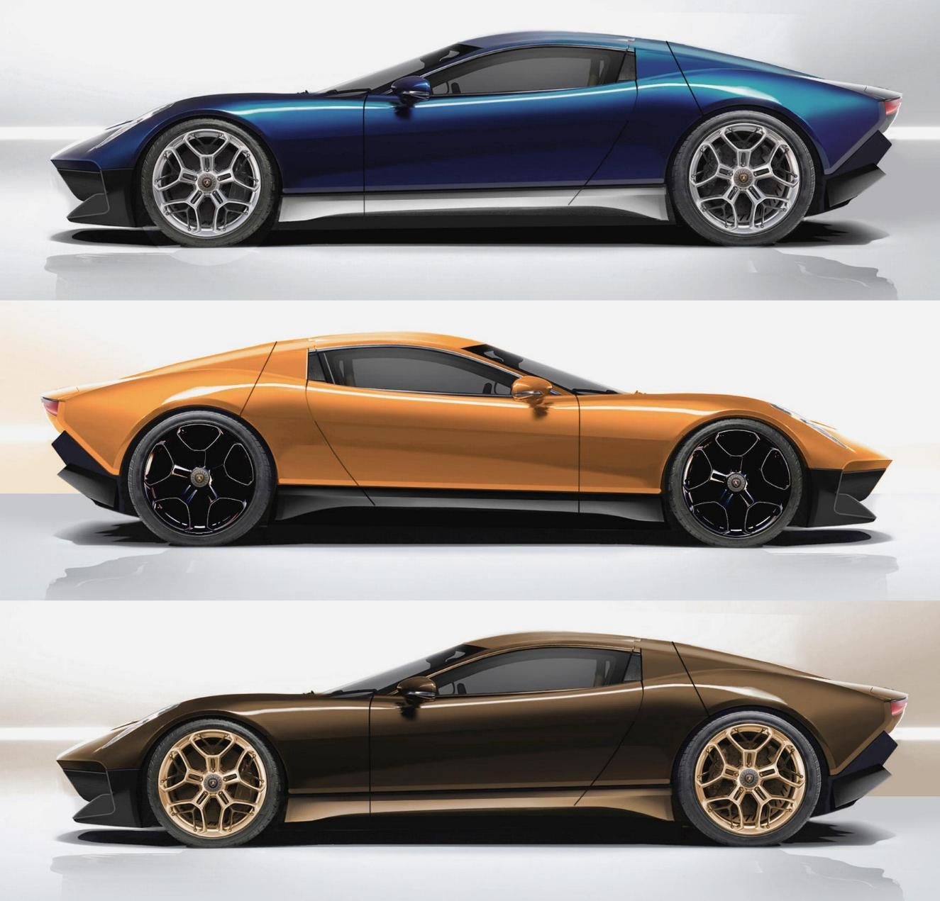 Lamborghini Miura: 2015 Lamborghini Miura Nuova Concept II, By Marco Van