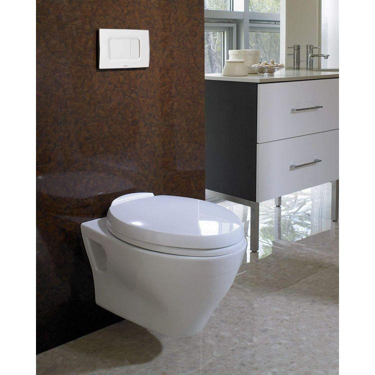 Toto Aquia Wall Hung Elongated Toilet And Duofit In Wall 0 9 And