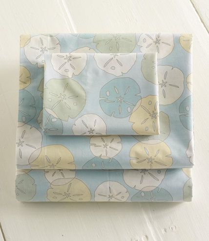 Soft And Airy Feel Sheets Would Be Great For Master Bedroom Sand Dollar Percale Sheet Set Sets Free Shipping At L Bean