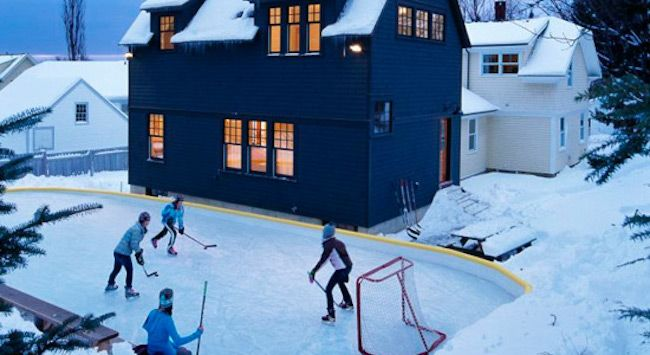 Attractive 3 Simple Steps To A Backyard Ice Skating Rink Amazing Ideas
