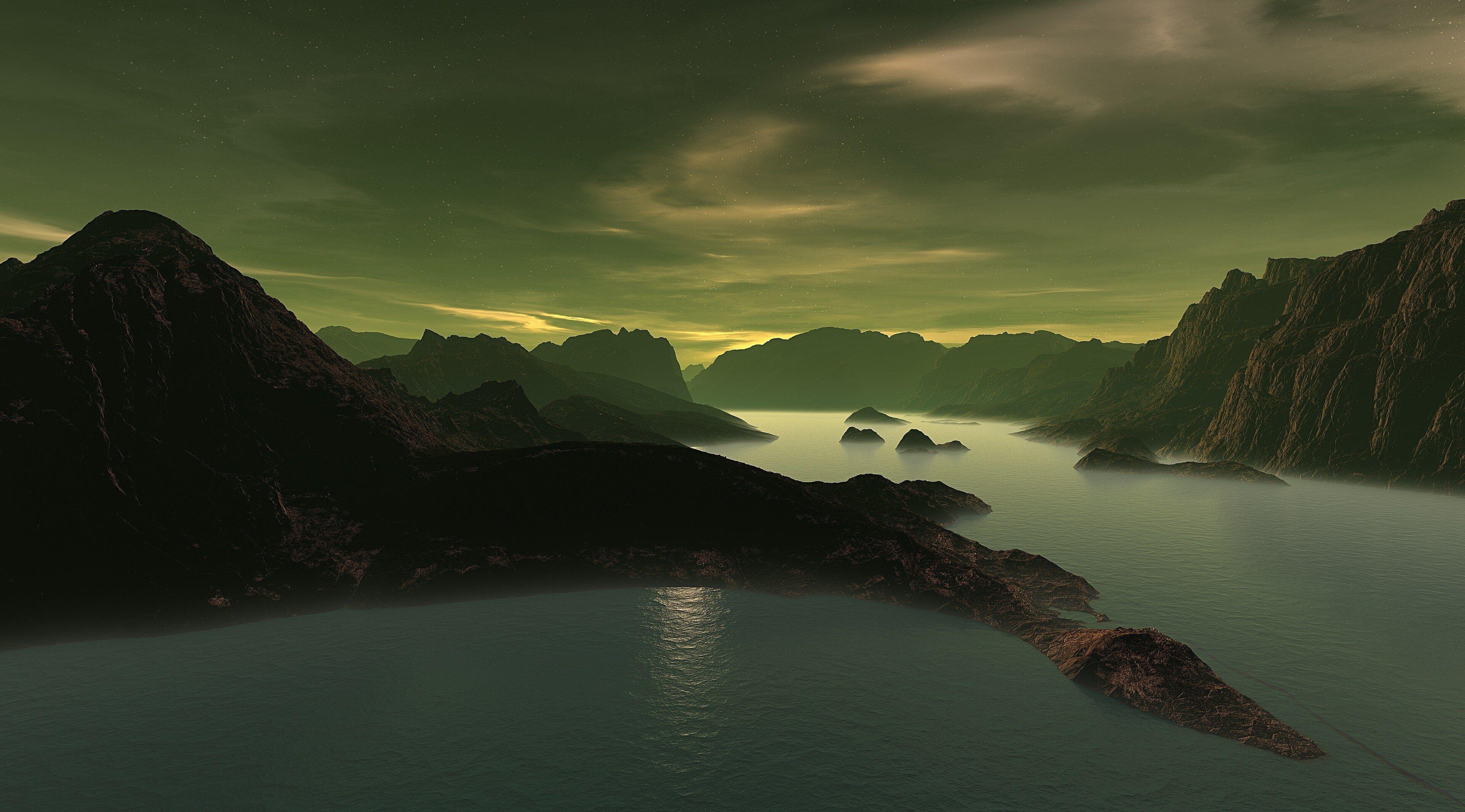 3840x2130 3d 4k Free Wallpaper Background For Computer Hd Landscape Hd Nature Wallpapers Lake Landscape