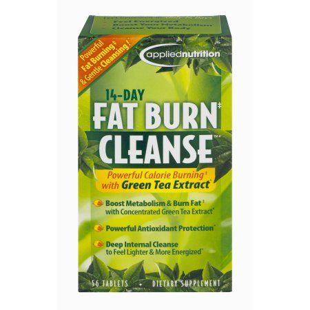 Applied nutrition 5 day liquid cleanse flush dietary supplement applied nutrition 14 day cleanse fat burning weight loss pills with green tea tablets 56 ct walmart malvernweather Image collections