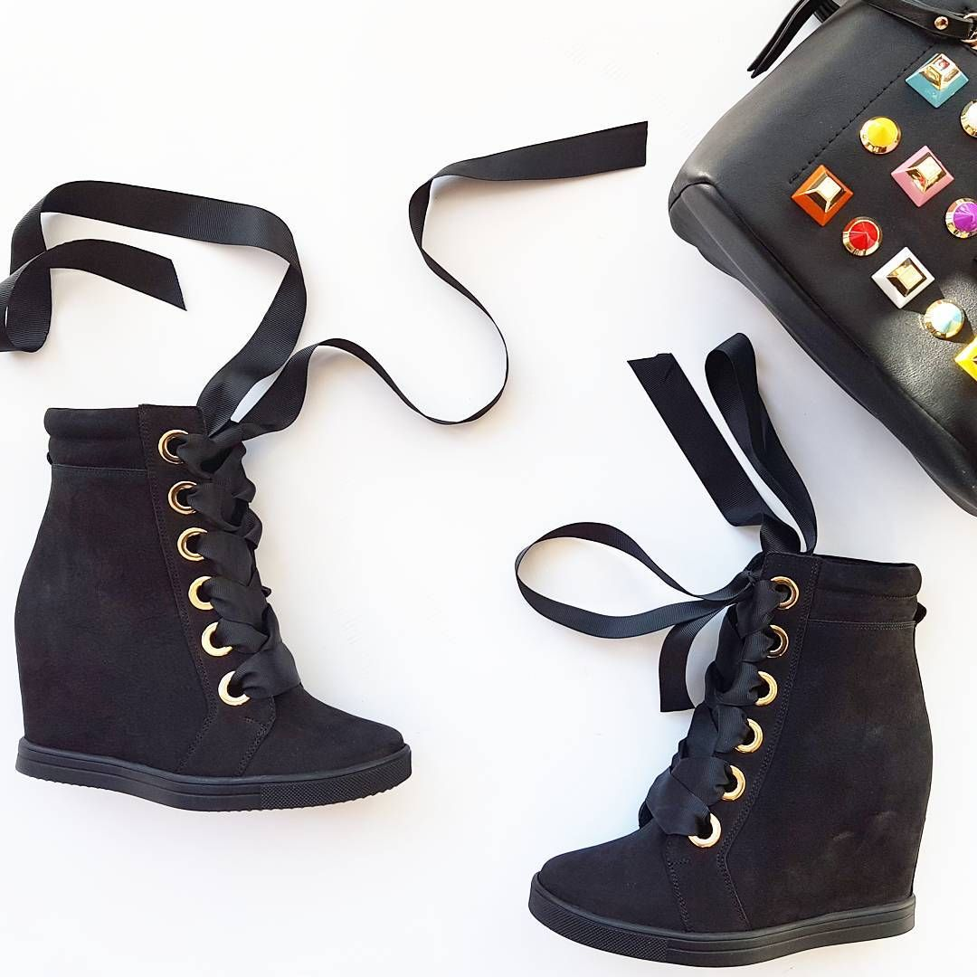 Badura Sneakersy Z Nowej Kolekcji Sneakersy Badura Black Blackshoes Gold Bag Colours Newmodel Musthaves Fire For Shoes Black Shoes Timberland Boots