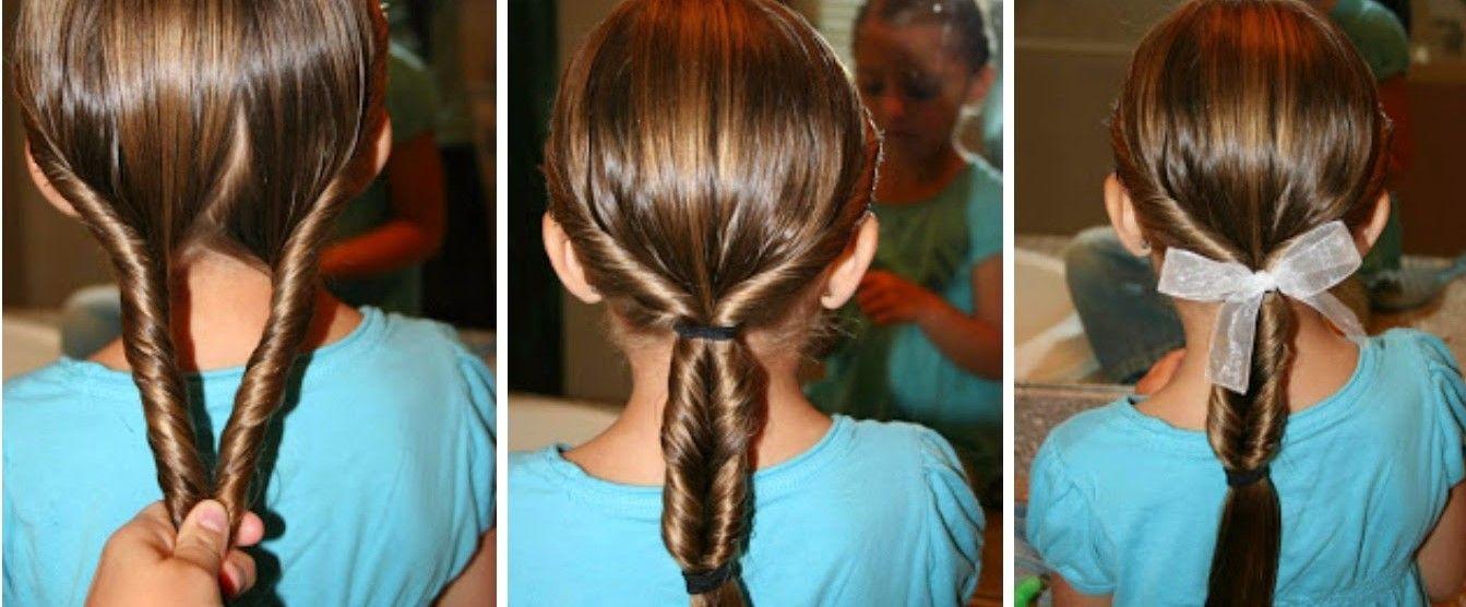 Över 1 000 bilder om peinados para niñas på PinterestSök, Enkla frisyrer och Youtube