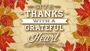 Give Thanks With A Grateful Heart Thanksgiving Wallpaper 1920 X 1200 Leaves Thanksgiving Wallpaper Good Morning Kisses Giving Thanks To God