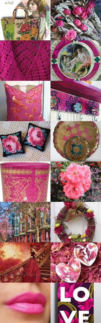 Romantic Rose Garden By Bohemianredjewelry On Etsy