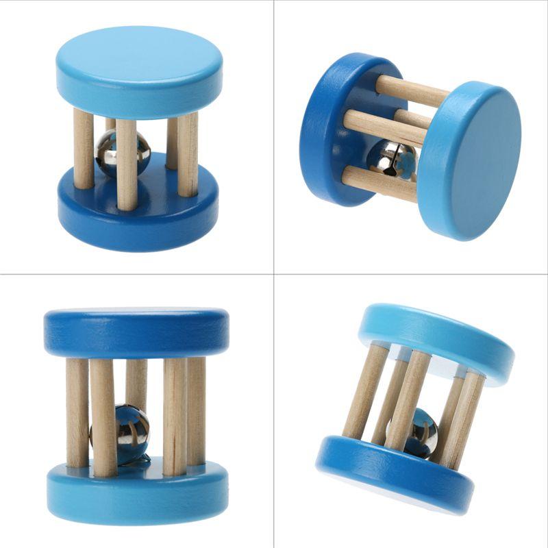 Engraçado brinquedo de madeira do bebê kid crianças intelectual desenvolvimento educacional de madeira brinquedos toys chocalhos para bebês em espiral