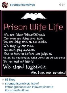 Quotes Of Strength For Someone In Jail Prison Wife Love You