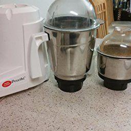 35aa2a8352c Amazon.com  Preethi Eco Twin Jar Mixer Grinder