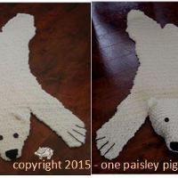 Crocheting Bear Skin Rug Pattern For Purchase Bear Rug Bear Skin Rug Crochet Patterns