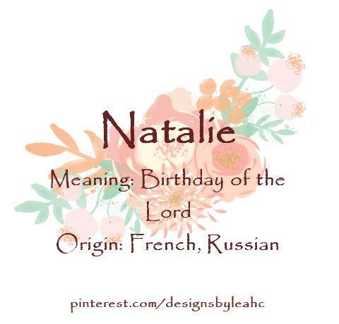 Urban Dictionary: Natalie
