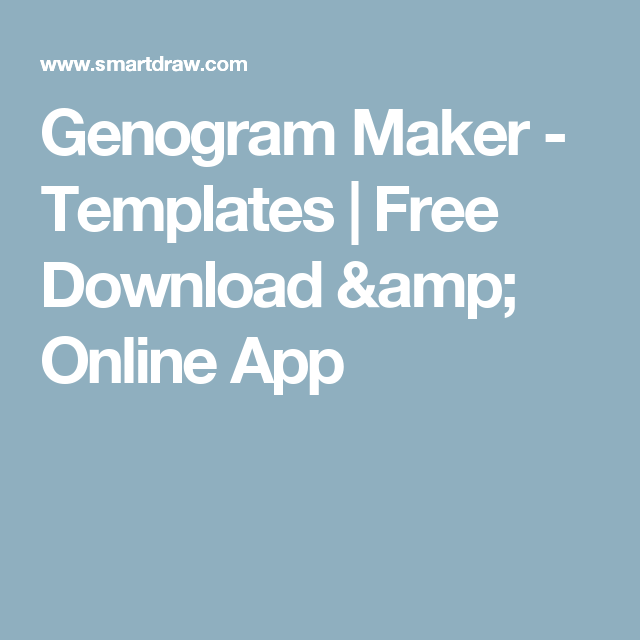 easy genogram maker