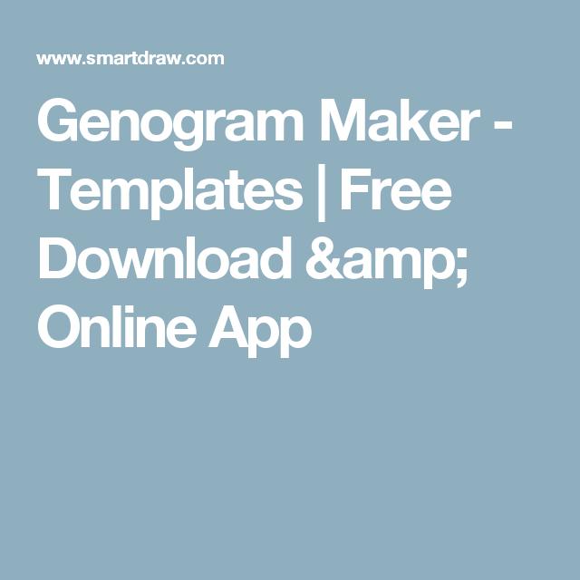 Genogram Maker  Templates  Free Download  Online App  Family