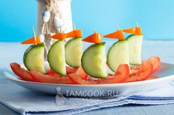 Канапе рецепт с фото на день рождения