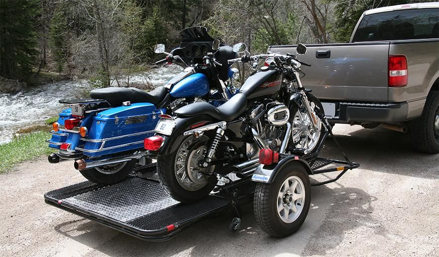 Dual Stand Up Motorcycle Trailer Cargo Trailer Motorcycle Trailer Cargo Trailer Motorcycle