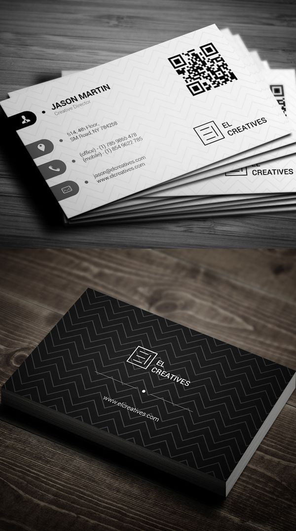 Business Cards Design: 50+ Amazing Examples to Inspire You - 33 ...