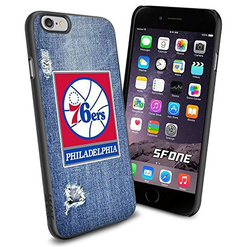 """Philadelphia 76ers Cool Jeans iPhone 6 4.7"""" Case Cover Protector for iPhone 6 TPU Rubber Case SHUMMA http://www.amazon.com/dp/B00VQJXN9O/ref=cm_sw_r_pi_dp_KiTpwb17K1VY0"""