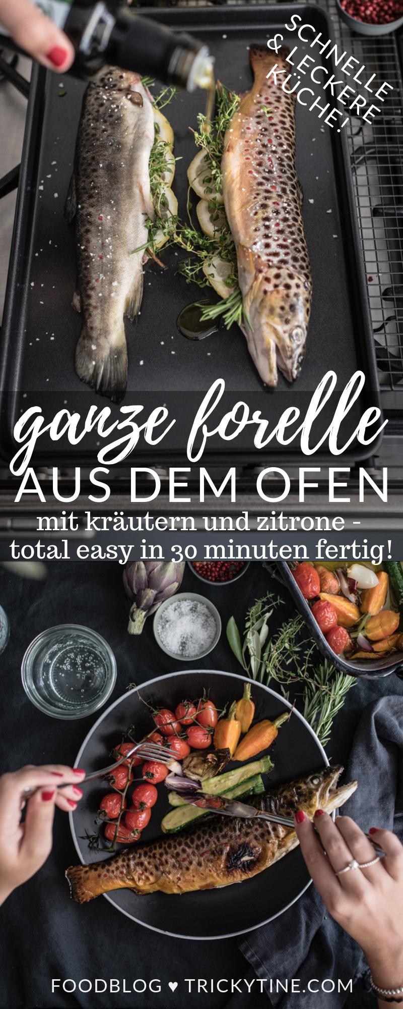 Rezept Für Gegrillte Forelle Aus Dem Ofen Ganzen Fisch Easy In 30