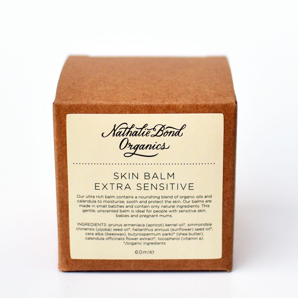 skin balm / extra sensitive – nathalie bond organics