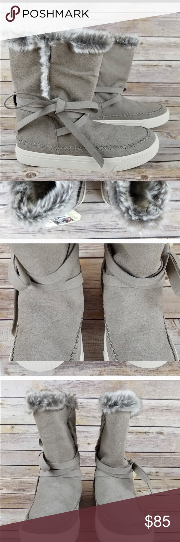 57665a61055 Toms boots 8.5 Toms 8.5 vista boots new with tags still on Toms Shoes Ankle  Boots   Booties