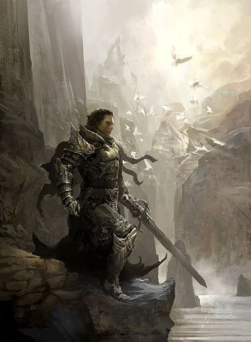 Holy Knight Picture On Visualizeus Art Guild Wars Fantasy Artwork