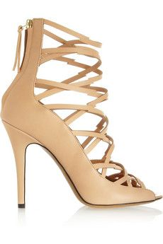 Isabel Marant Paw multi-strap leather sandals  | NET-A-PORTER