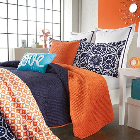 Studio 3B™ Kayla Reversible Coverlet - BedBathandBeyond.com