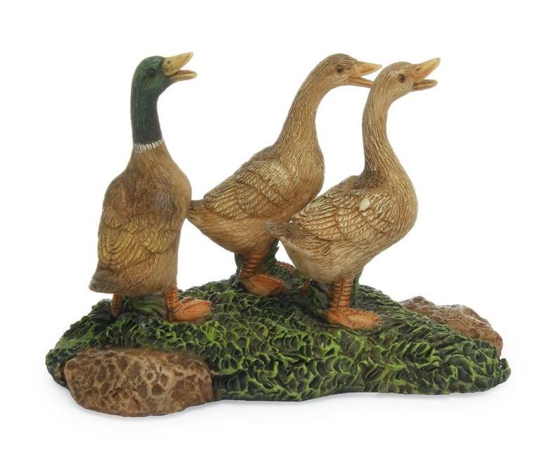 Fairy Garden Ducks Mallard Duck Miniature Garden Farm Etsy In 2021 Fairy Garden Fairy Garden Supplies Garden Fairies Figurines