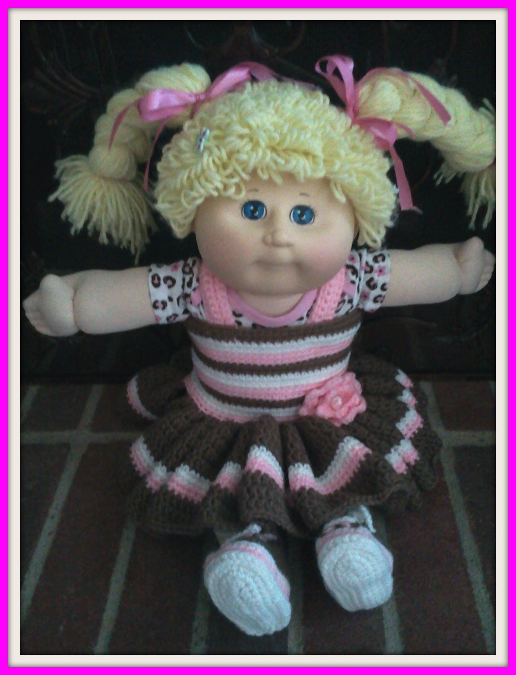 Crochet Cabbage Patch Barbie Doll Clothes Youtube Trailer