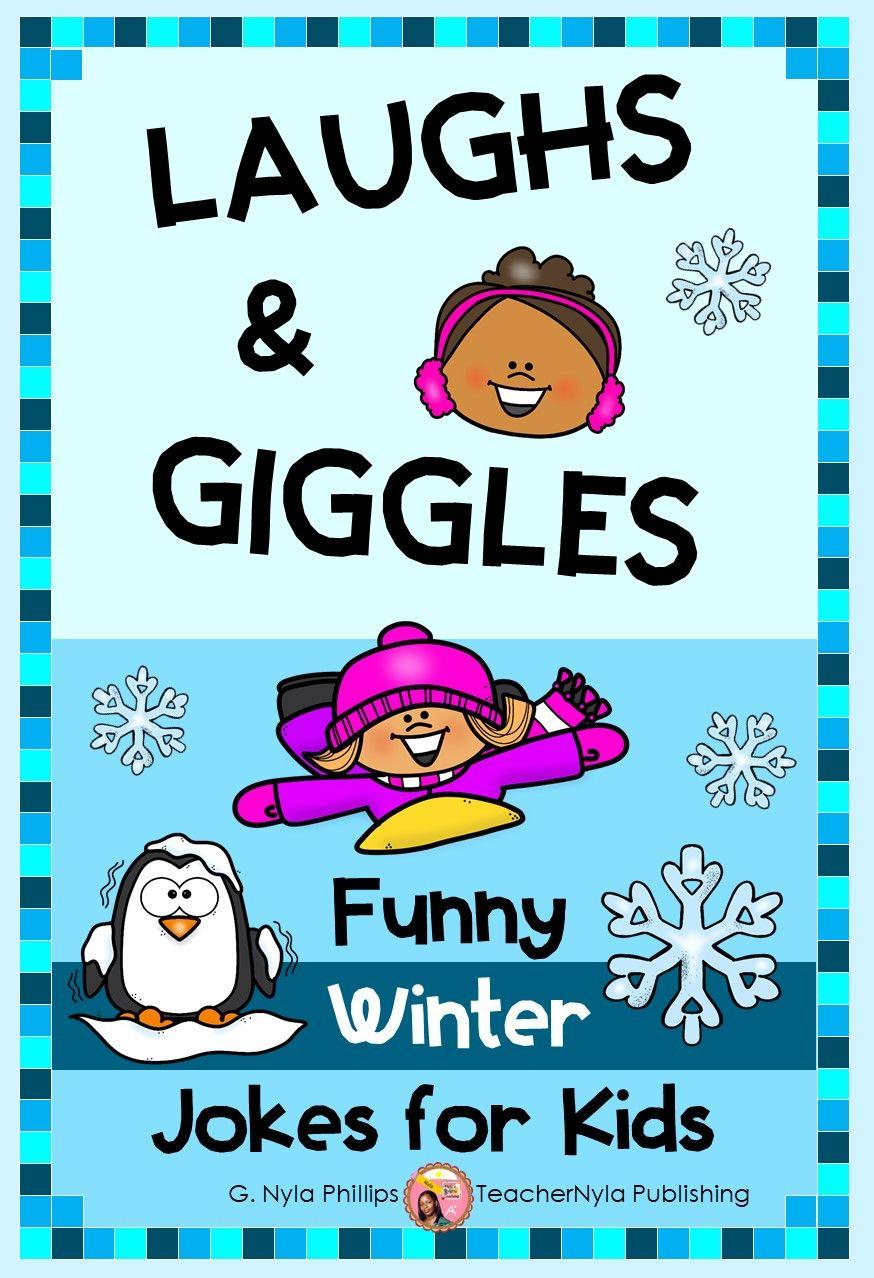 Winter Joke Book For Kids To Enjoy In 2020 Book Jokes Funny Jokes For Kids Funny Books For Kids