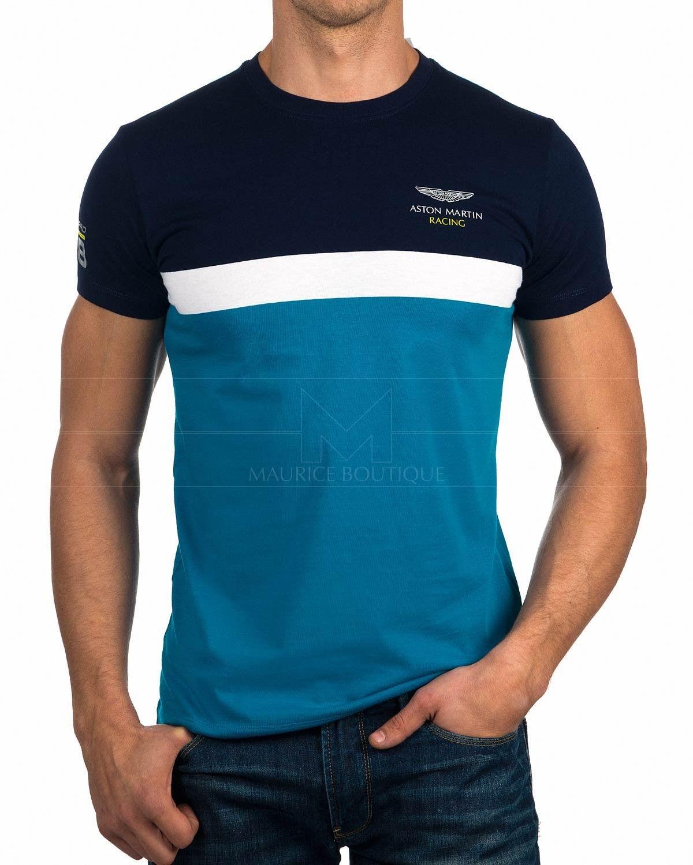 Camiseta Hackett Aston Martin - Stipe Tee  33b089ceed75e