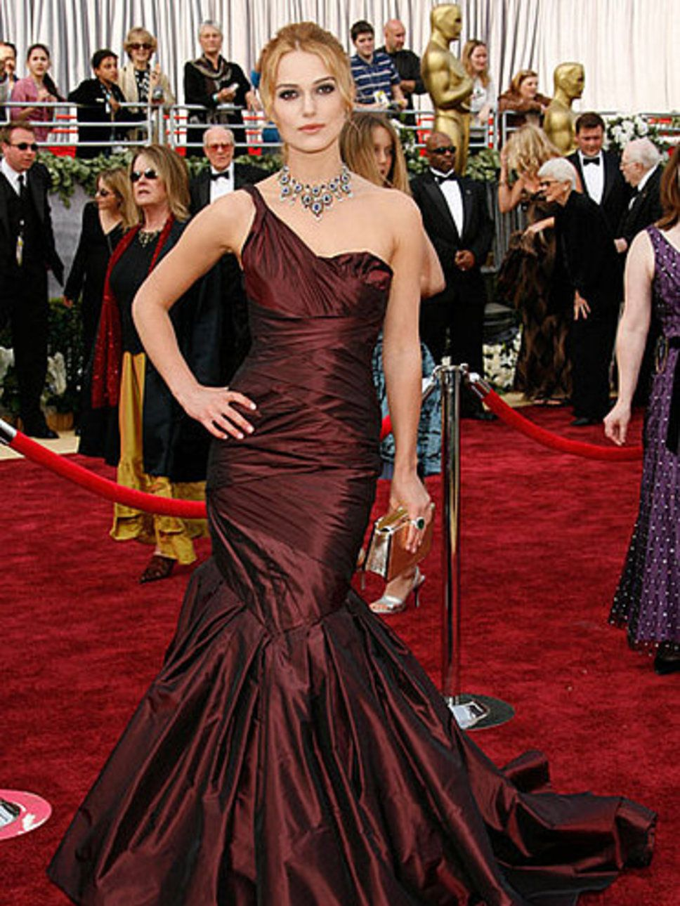 Keira Knightley in Vera Wang: absolutely gorgeous!