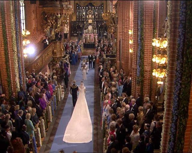 Todas las fotos de la boda de Victoria de Suecia