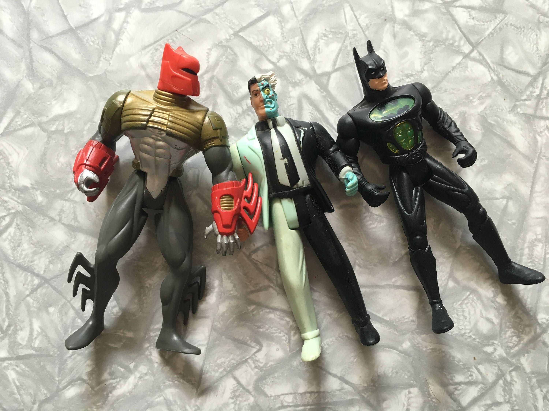 lot of 3 1990 s batman actions figures