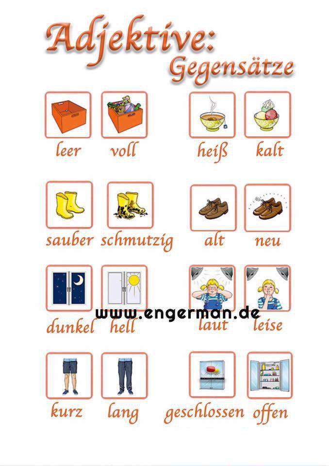 learn german learngermann twitter deutsch deutsch wortschatz adjektive deutsch. Black Bedroom Furniture Sets. Home Design Ideas