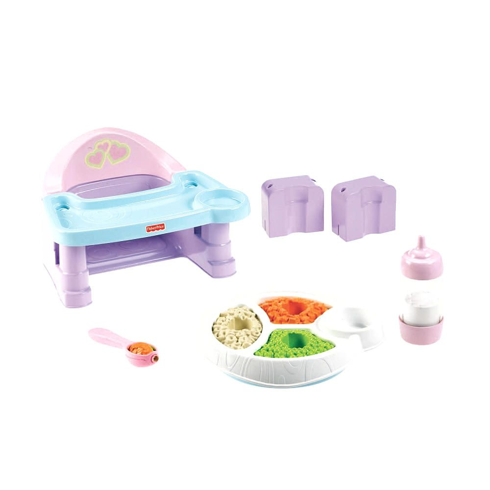 Fisher-Price Servin\' Surprise Deluxe Food Playset - Baby Food ...