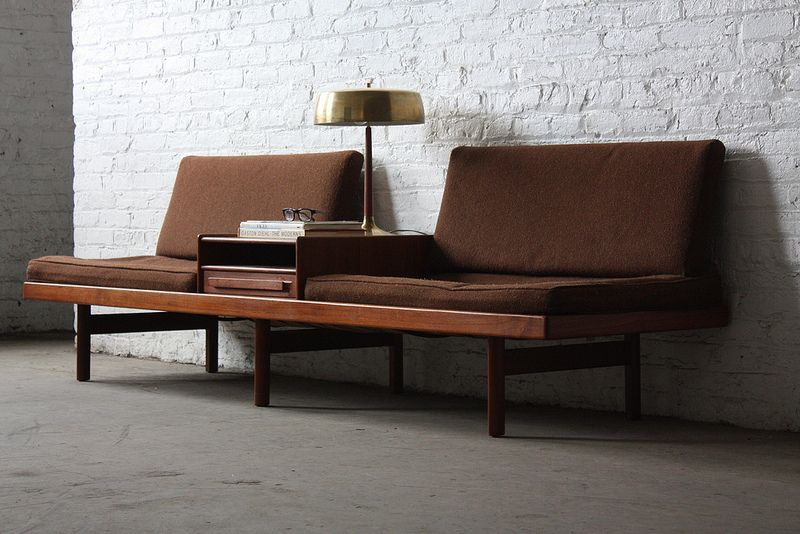 on deck memorable scandinavian mid century modern karl sorlie sonner platform sofa. Black Bedroom Furniture Sets. Home Design Ideas