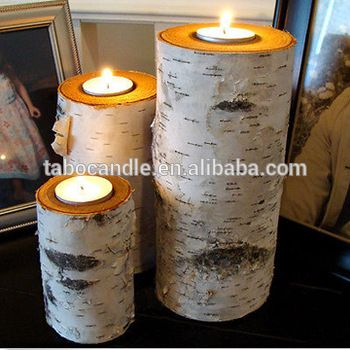 Wood Crafts Gift candle