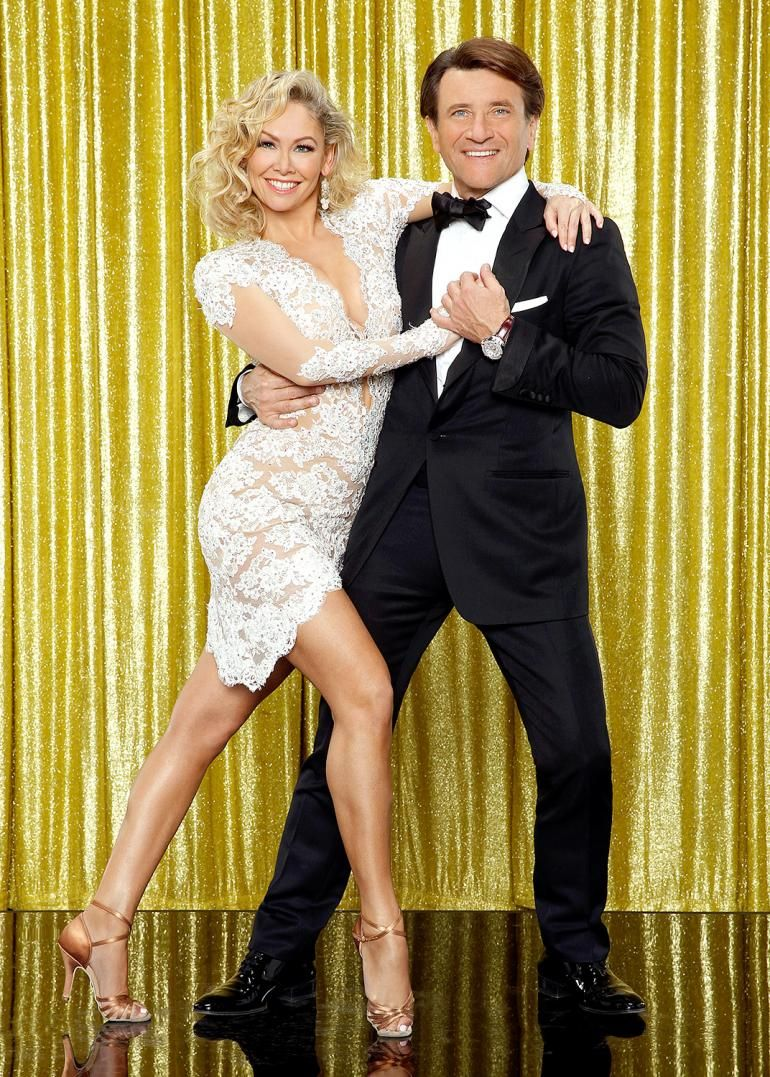 Dancing With The Stars' Kym Johnson to 'sign prenup' from Shark Tank star fiancé Robert Herjavec that will bar her from accessing his millions if they split