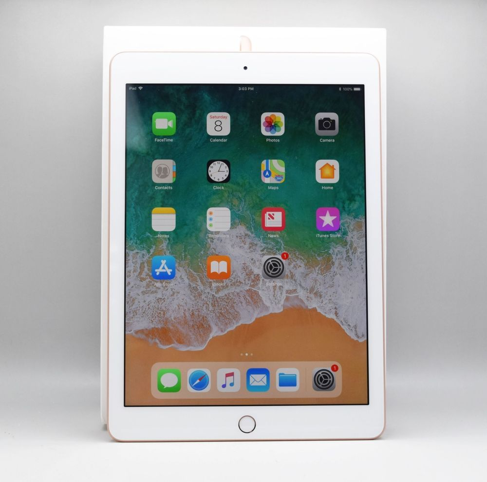 Apple iPad 6th Gen 32GB Gold Wi-Fi MRJN2LL//A