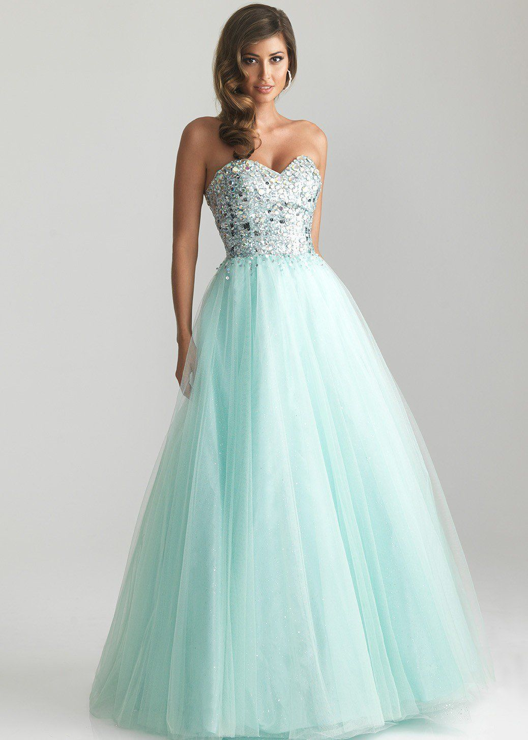 Cute,prom or formal dress! | Me | Pinterest | Turquoise, Gowns and Prom