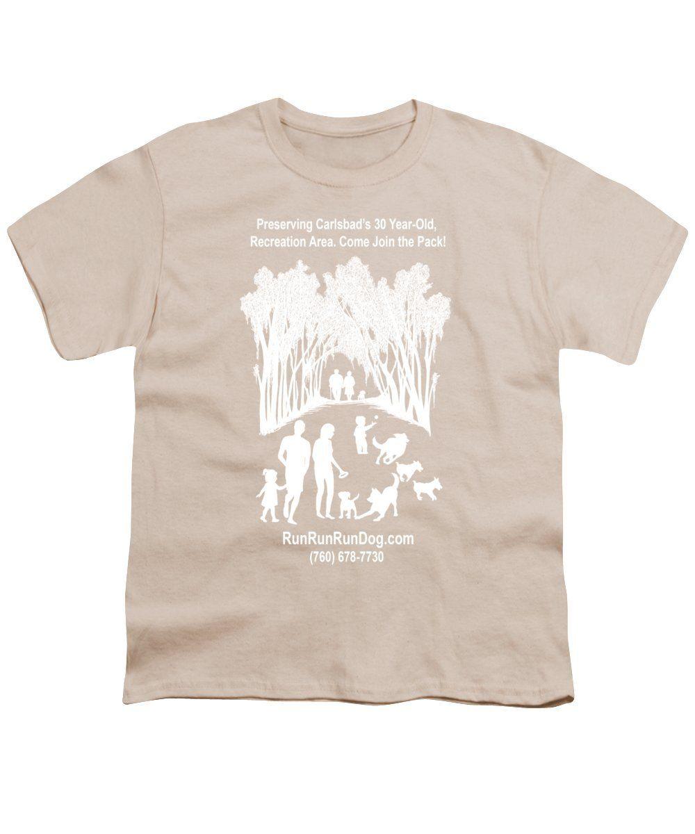 Runrunrundog.com Logo - Youth T-Shirt