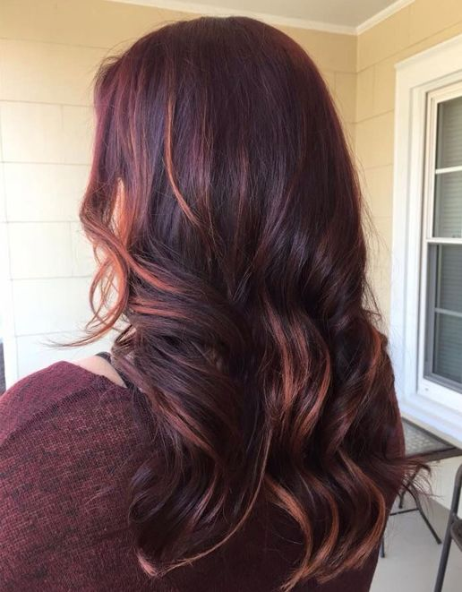Hair Colors For Spring Season 2016 Merlot Hair Color Long Hair Styles Hair Styles