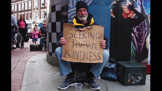 Pat Payne Be Thankful Tribute To The Homeless Human Kindness Homeless Person Homeless