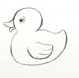How to Draw a Rubber Duck | Rubber duck, Rock painting and ...