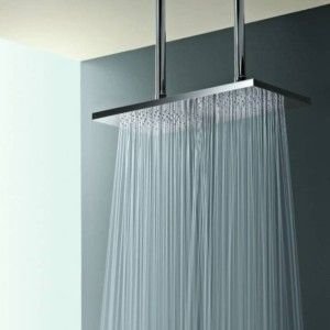 Long Shower Head With Images Double Shower Bathroom Decor